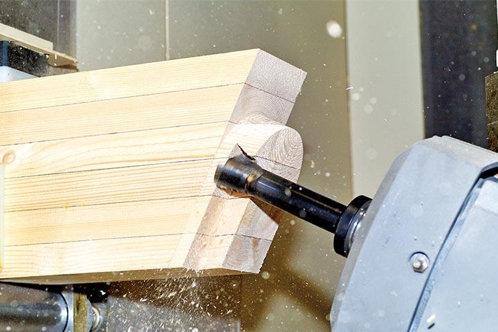 軸組加工(在来)住宅部材製造
