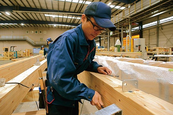 各種金物工法住宅部材製造