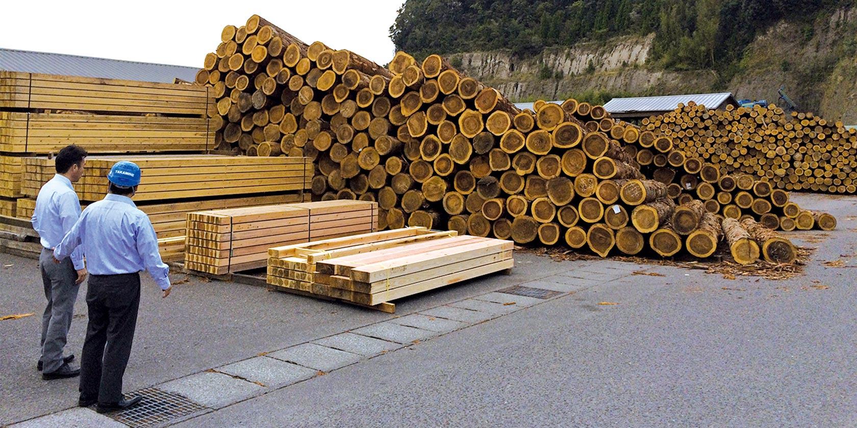 木材販売事業