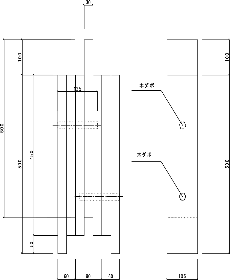 試験体A(繊維方向)