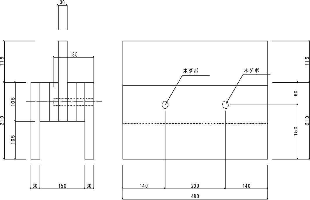 試験体B(繊維直交方向)