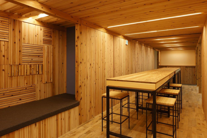 木質新素材「DLT」の開発・導入