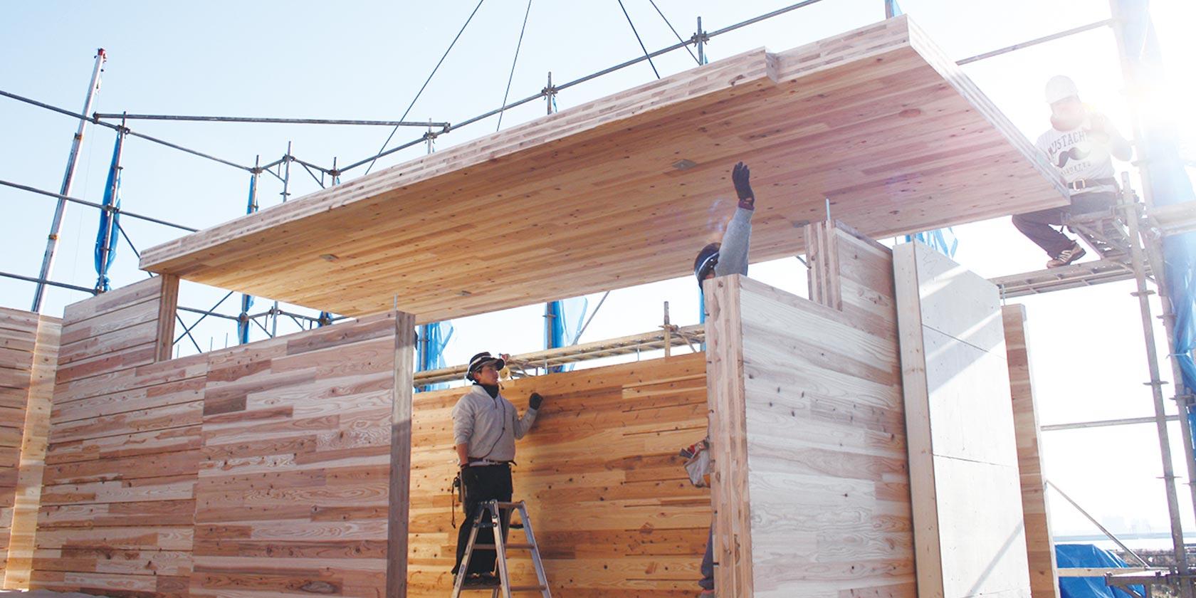 木質新素材の開発・導入
