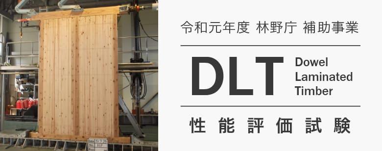 DLT(Dowel Laminated Timber) 性能評価試験